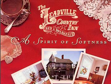 Leadville Country Inn - Magazine Design